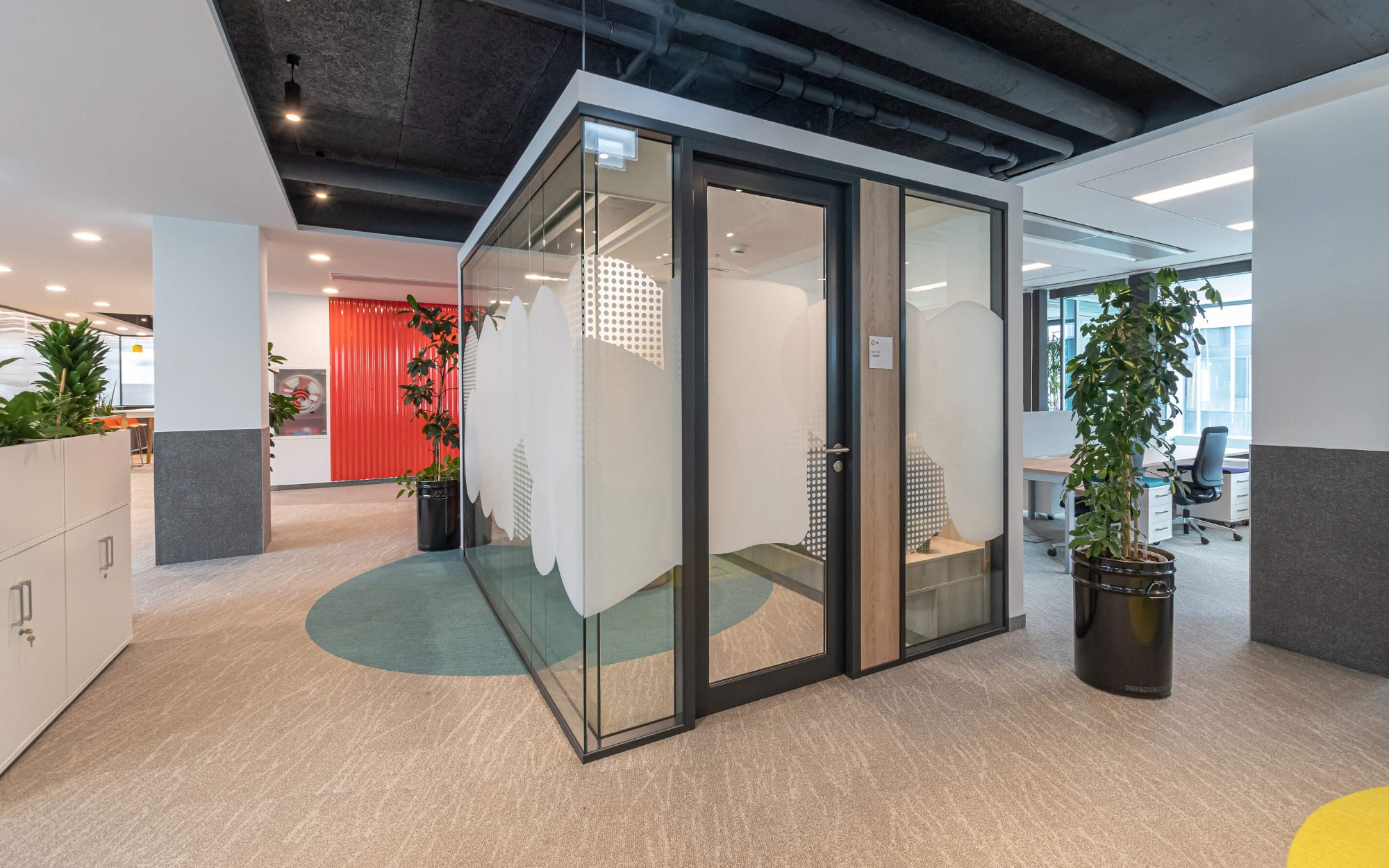 Offices with the feeling of a cozy home