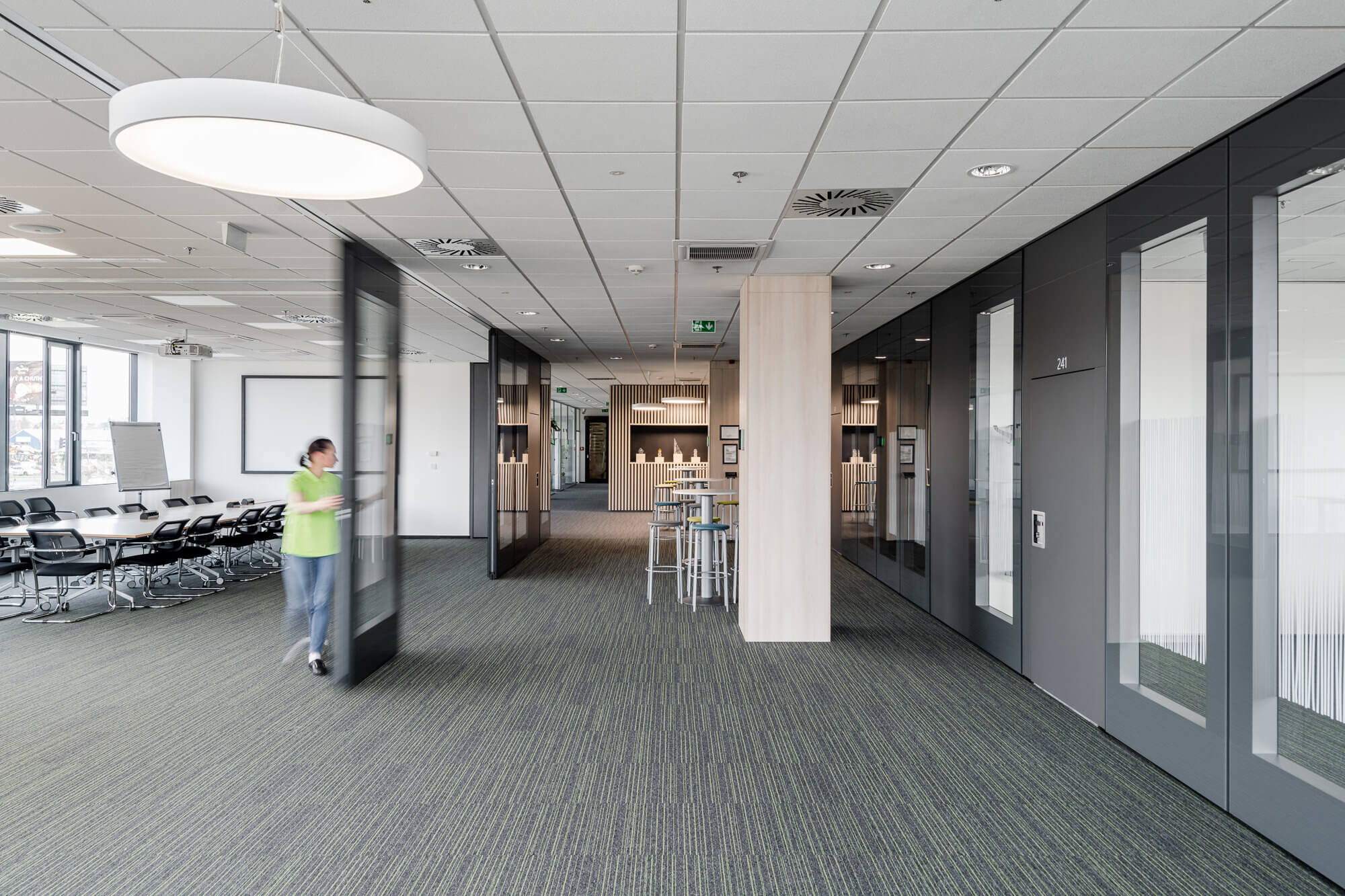Effective use of administrative and social spaces
