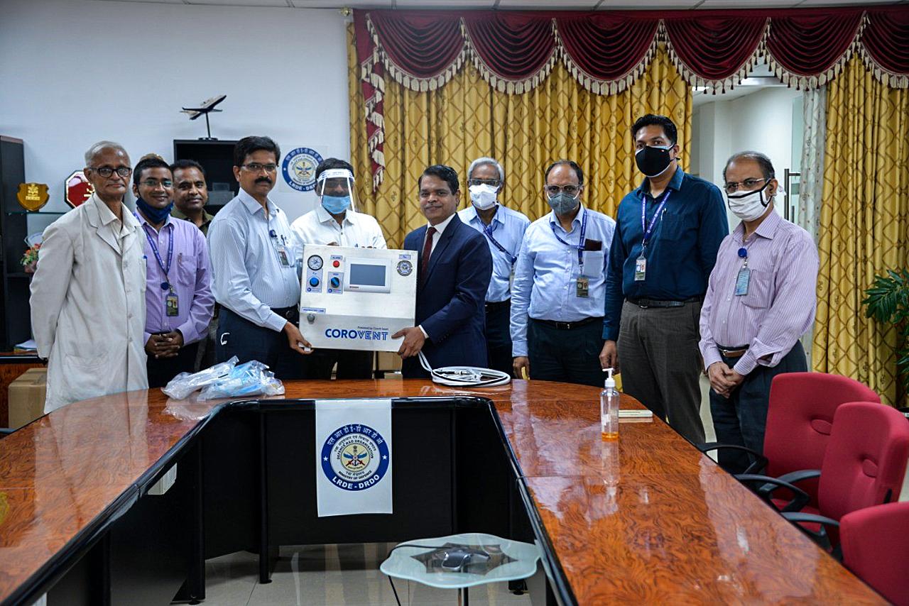 Lung ventilators for India