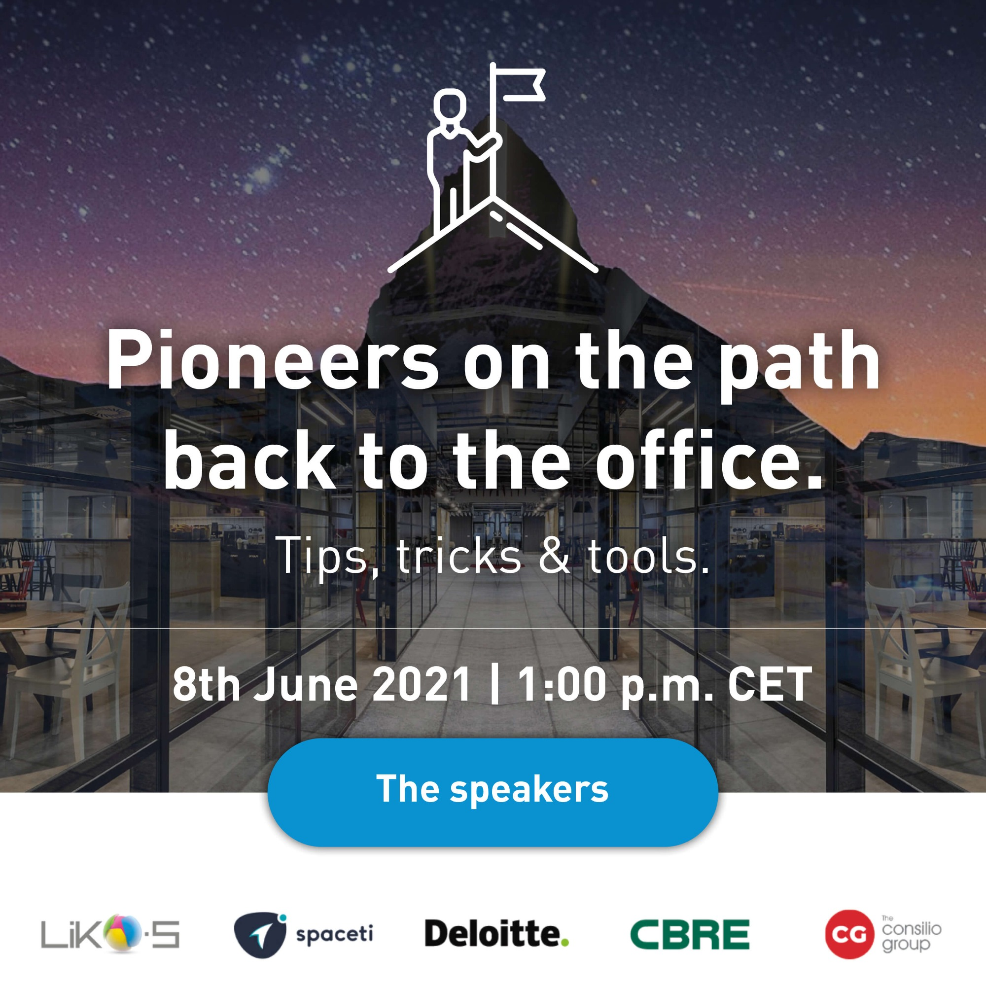 Webinar   Pioneers on the path back to the office. Tips, tricks & tools