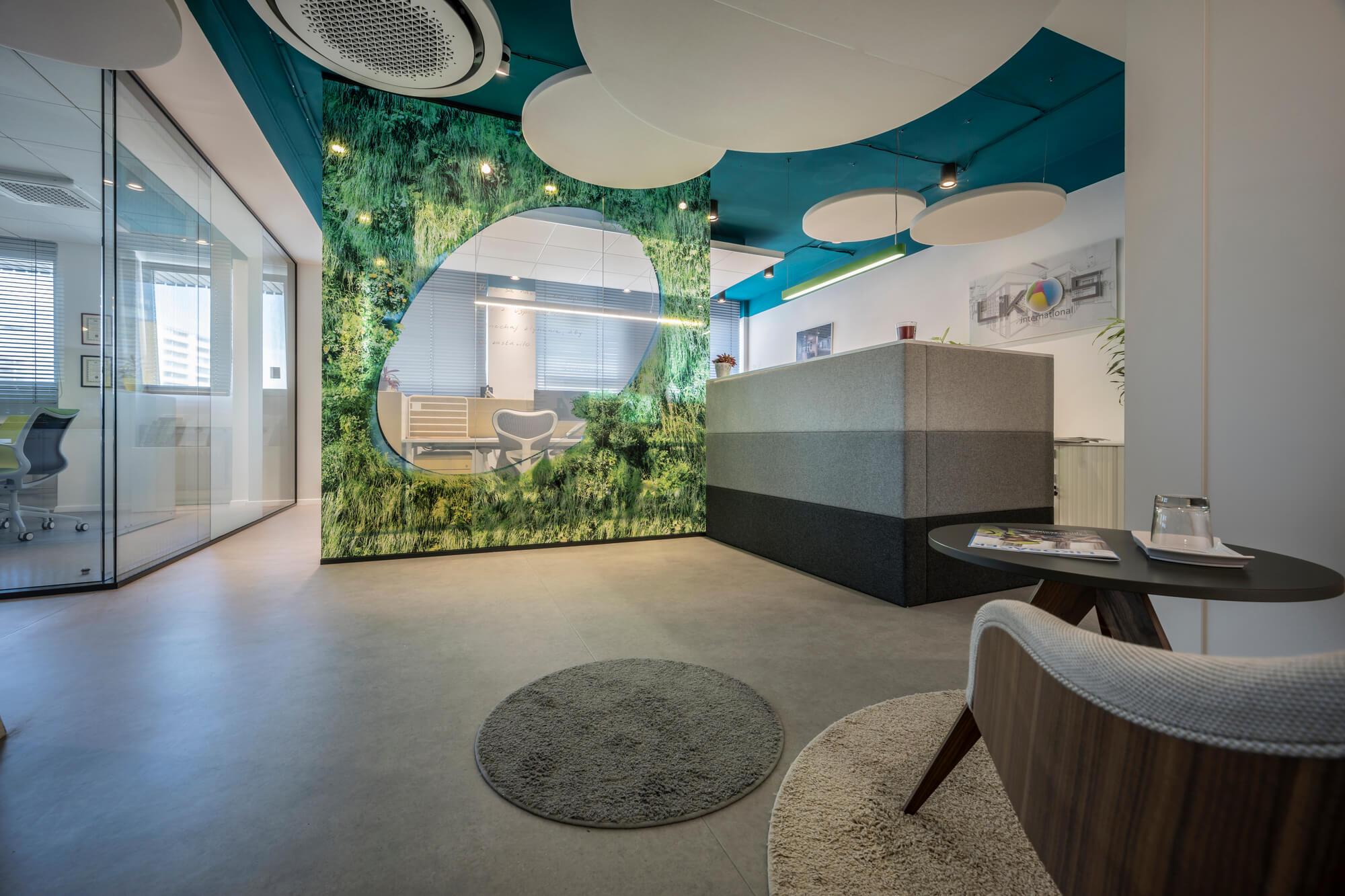 LIKO-S Office as a showroom
