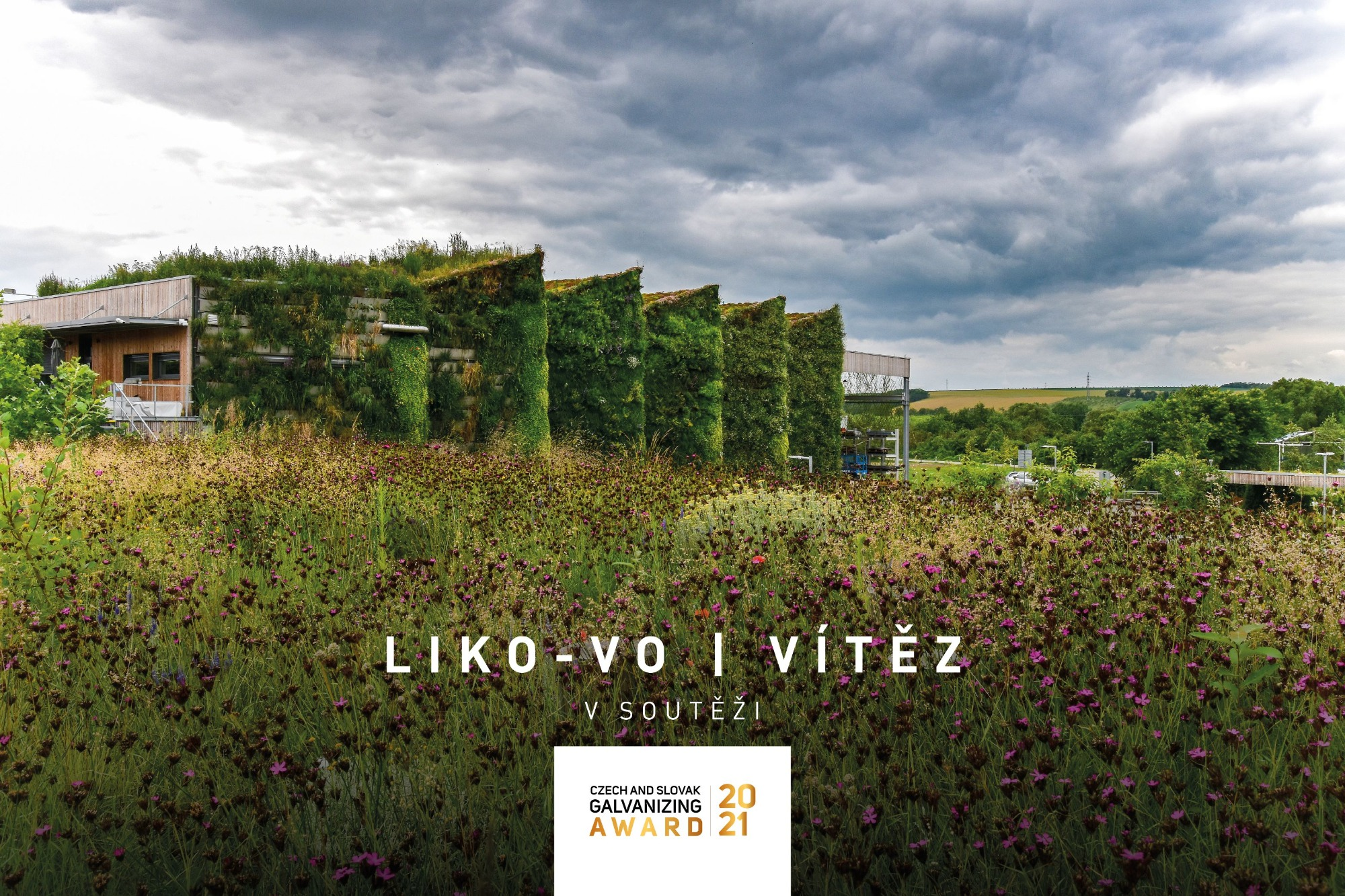 Living hall LIKO-Vo won the Czech and Slovak Galvanizing Award 2021