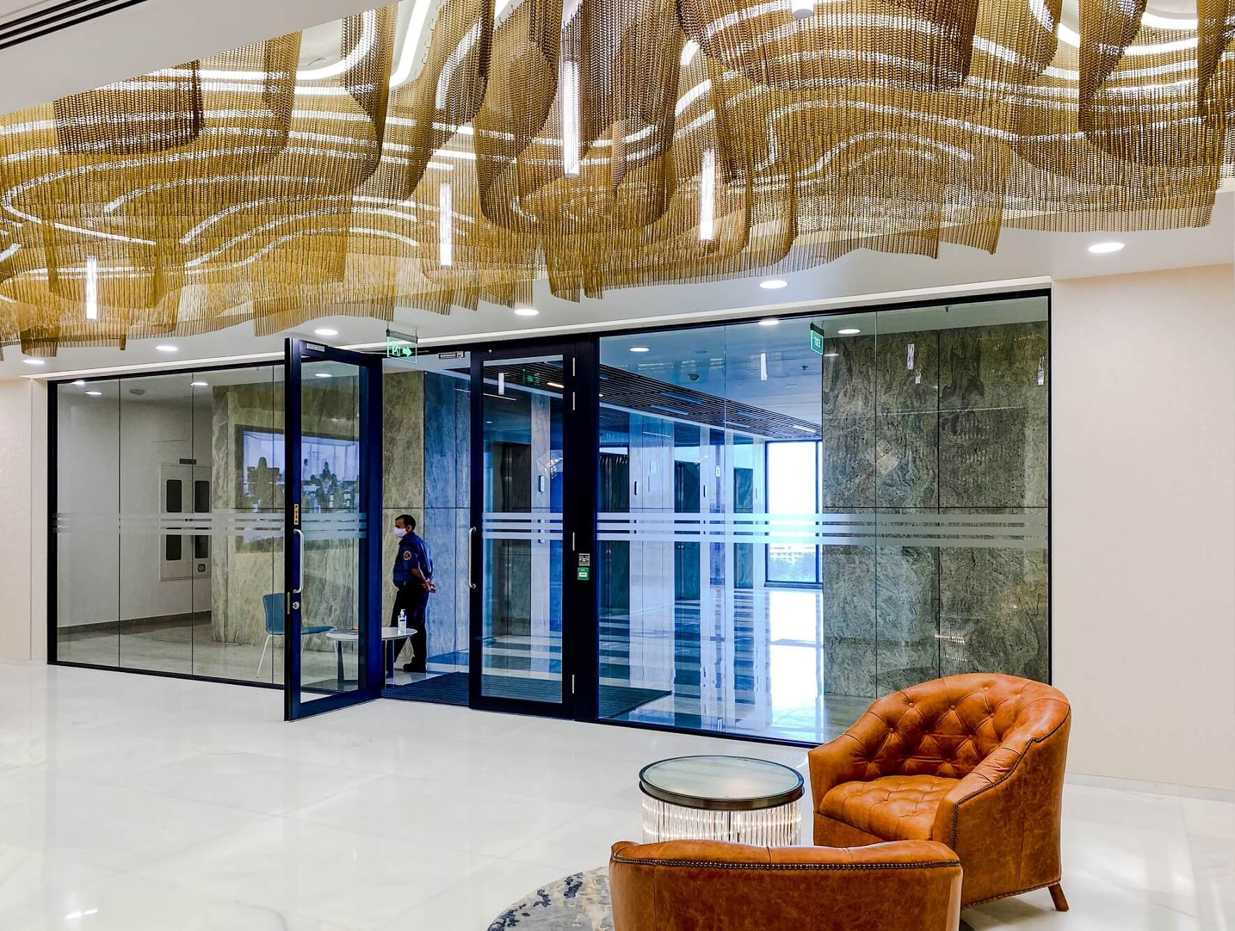 Impressive interiors of offices in Bangalore