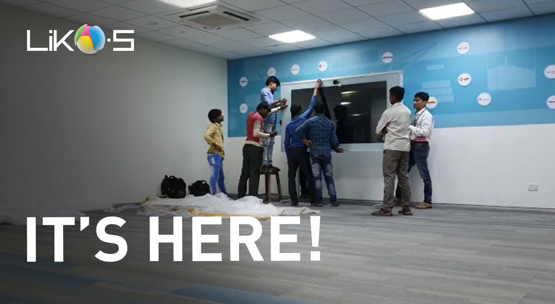 First SMART-i-WALL in India!