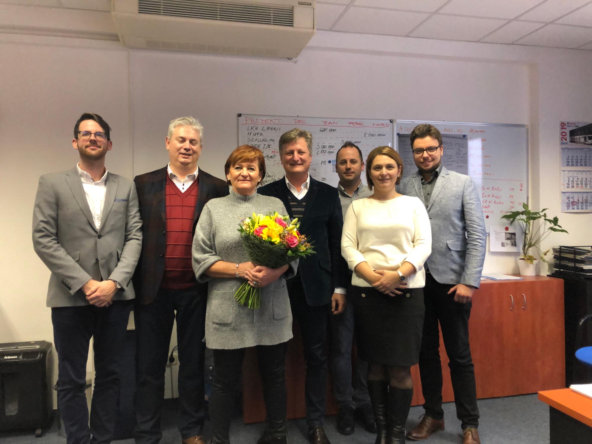 Maria Vereb's 20th anniversary in LIKO-S!