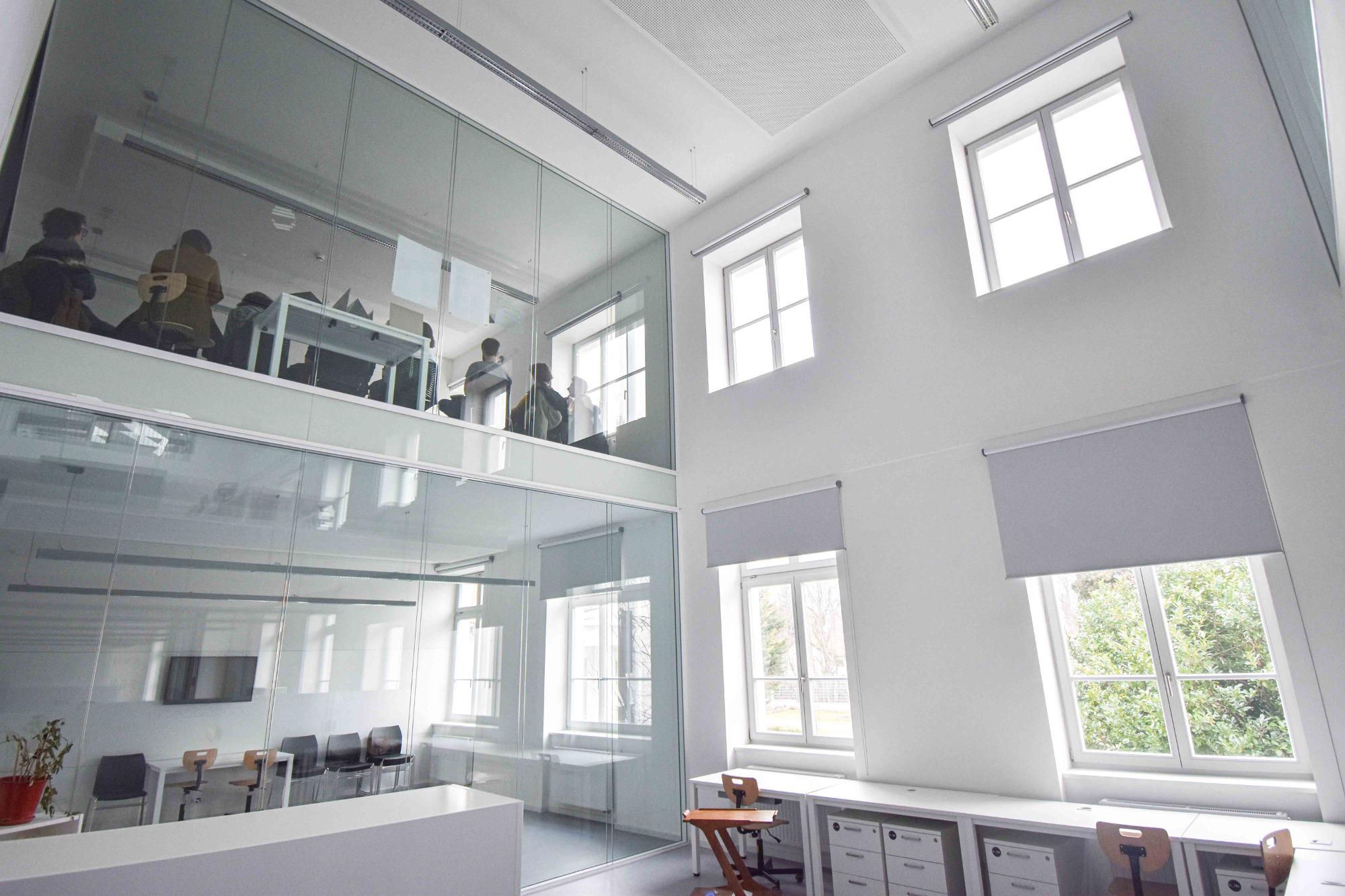 A budapesti MOME Egyetem belső építészete szemet gyönyörködtető!