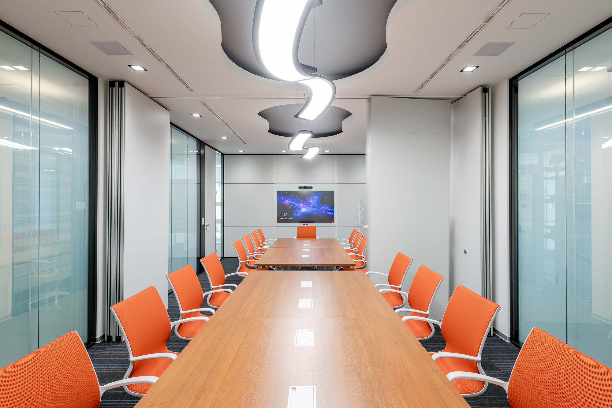 Modern and timeless office interior