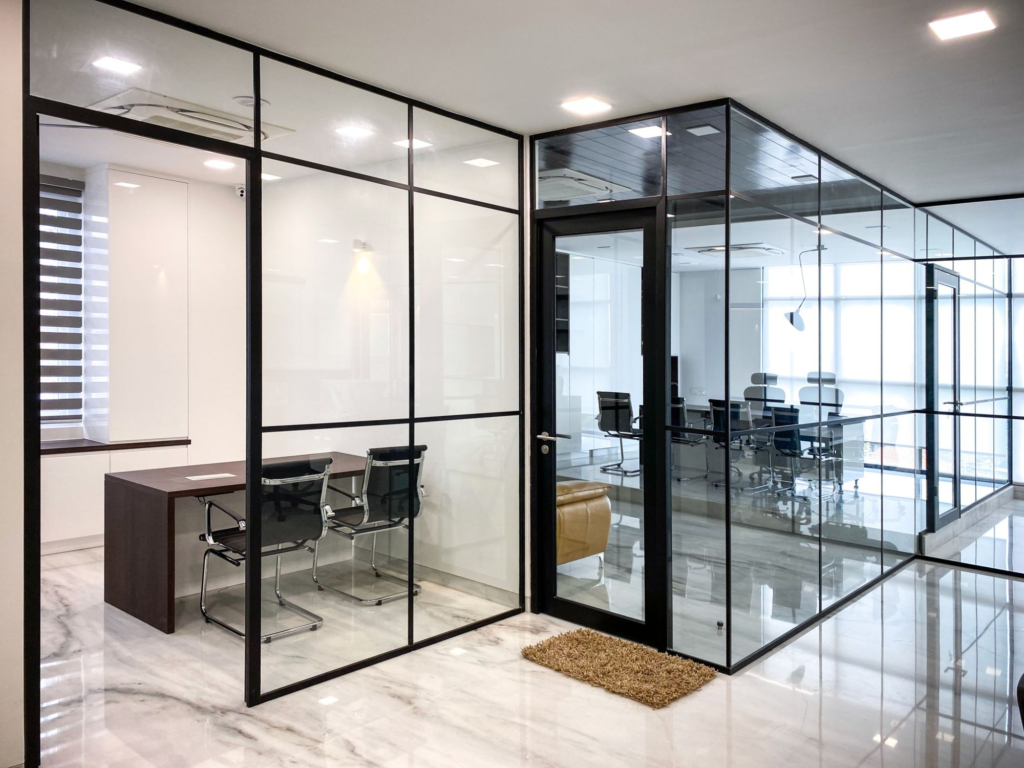 Industrial-style offices in Bangalore