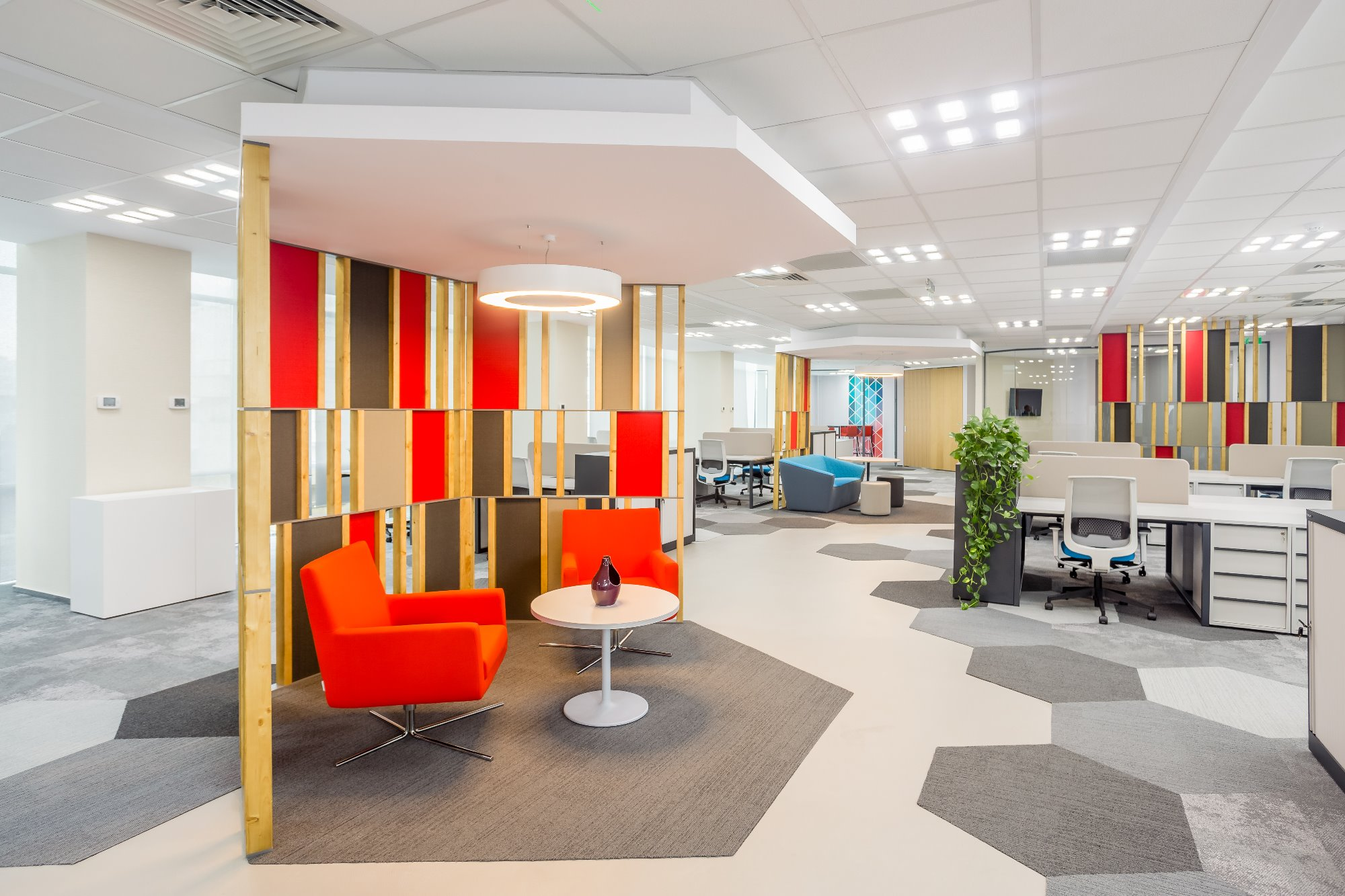 Optimal, effective and visually pleasing office design