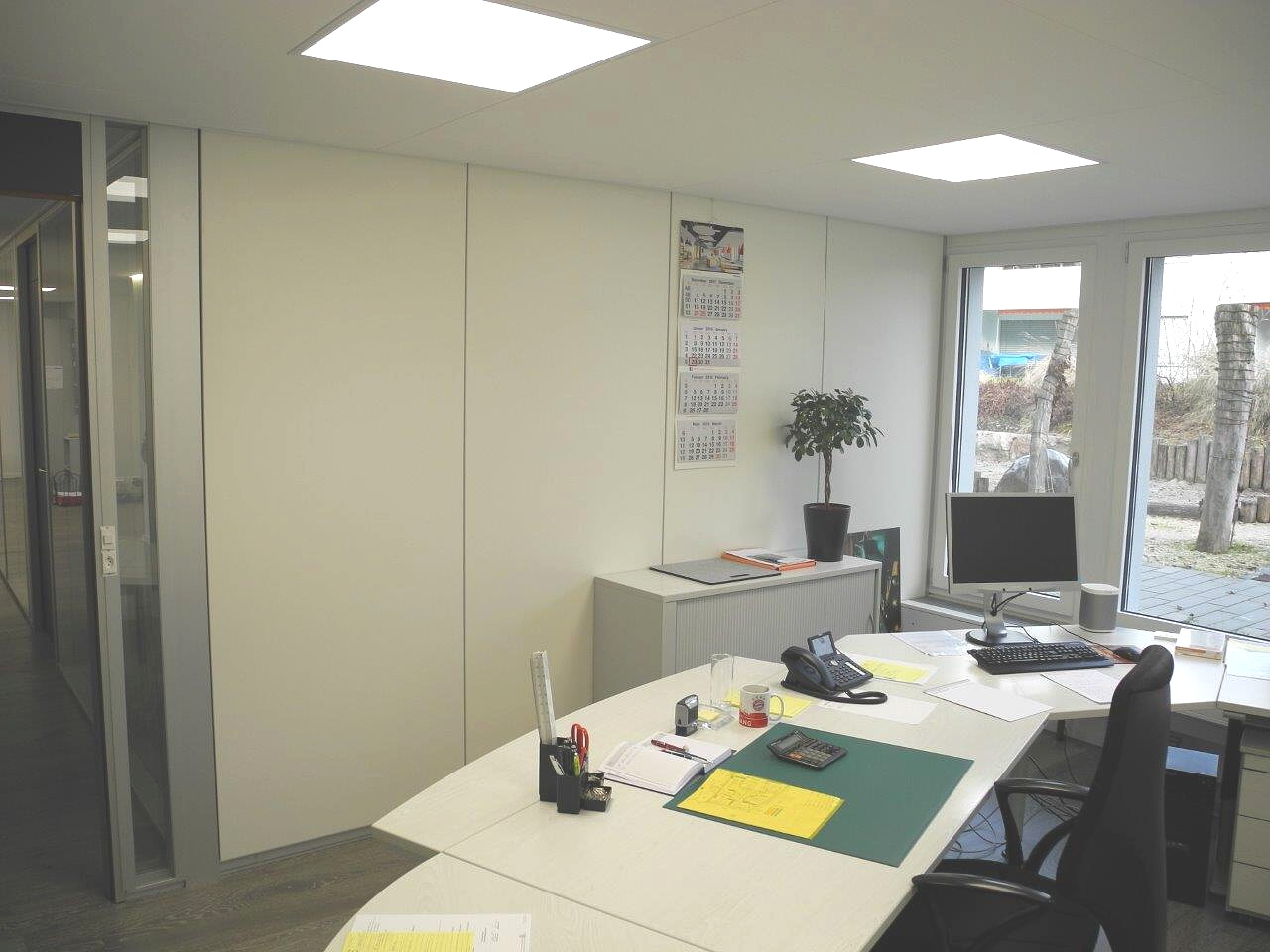 Interior partitions RAVA in Switzerland