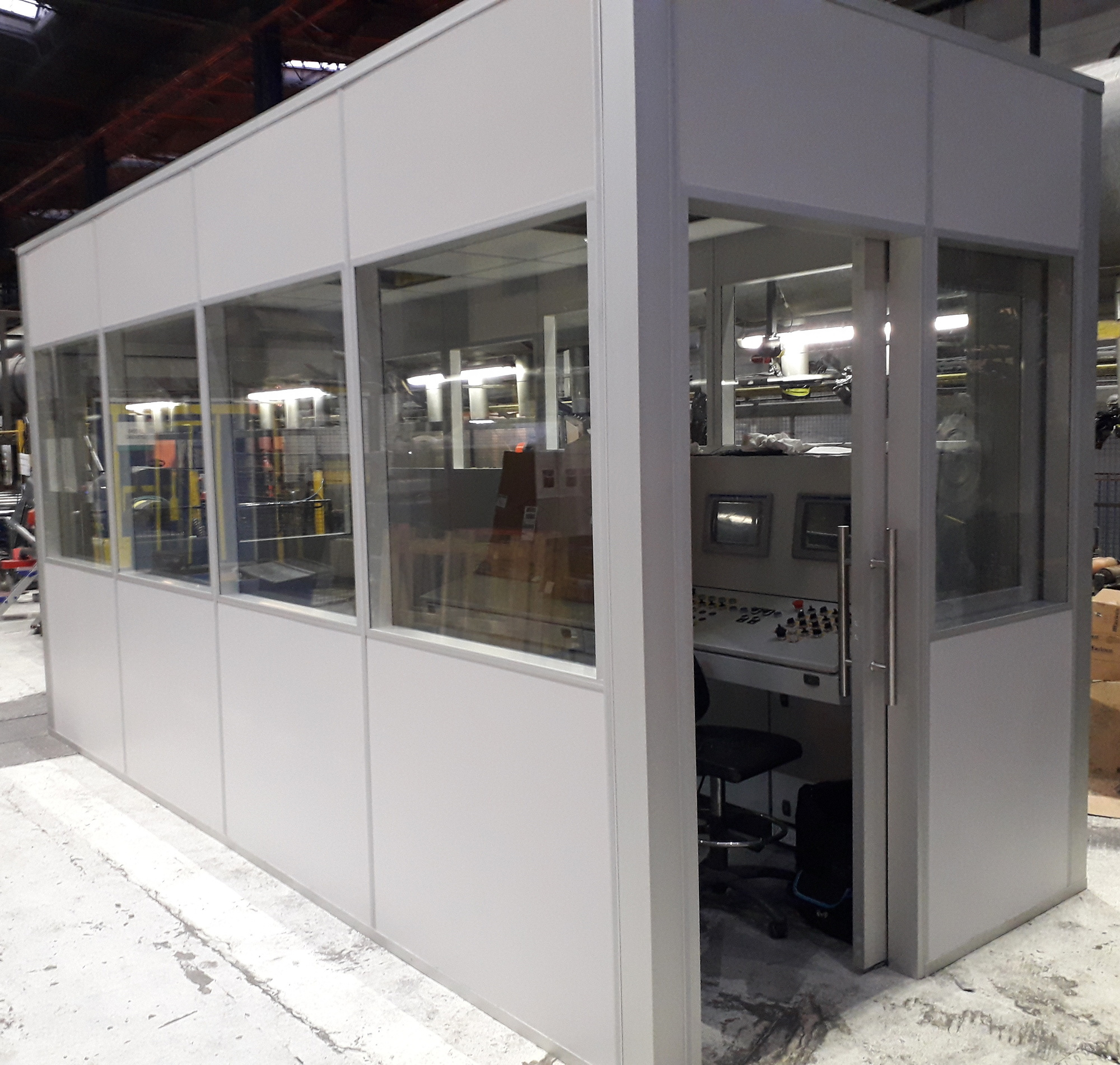 Inhall units for a production facility in Poland