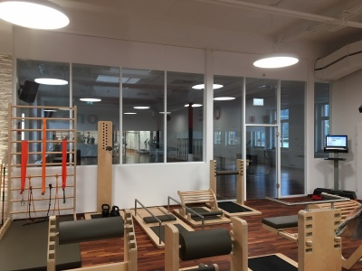Fabrikhalle Fitness Center reconstruction in Altdorf, Switzerland