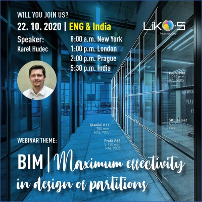 Webinar | BIM – Maximum effectivity in design of partitions