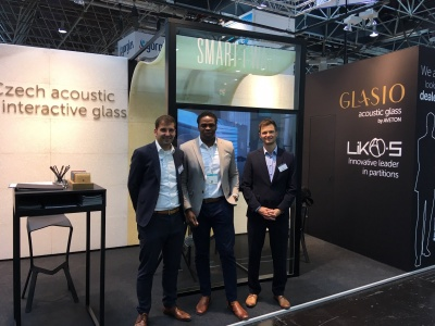 Greetings from Glasstec trade fair