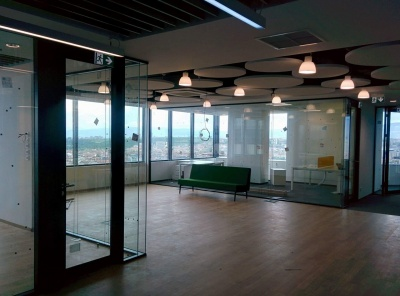 Glass partitions 'Made in LIKO-S' found a home at a good address
