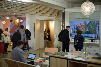 LIKO-S and SMART-i-WALL® part of the Czech pavilion at the London Design Fair!
